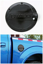 Black  Fuel Filler Cover Gas Tank Cap cover trim for Ford F150 2015 2016 1pcs