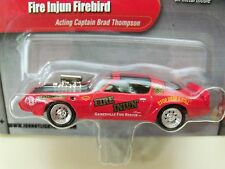 JOHNNY LIGHTNING - BEAT THE HEAT - BRAD THOMPSON - FIRE INJUN FIREBIRD TRANS AM