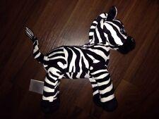 H&M Zebra Kuh Streifen Schwarz Weiß Kuscheltier Plüschtier Stofftier Schlenker
