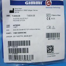 GIMMI T.8004.36 SILICONE VALVE, PACKAGE OF 5, AlphaDur AlphaPort