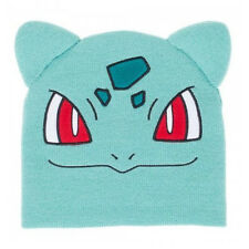 OFFICIAL POKEMON BULBASAUR BIG FACE WITH EARS BEANIE HAT (BRAND NEW)