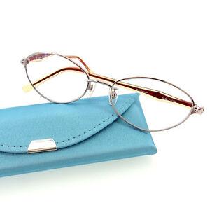 Roberta Di Camerino Glasses clear Silver Woman Authentic Used L1204