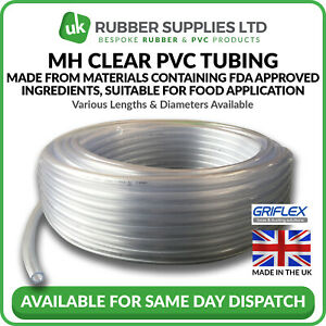 Clear PVC Tube/Hose Made From FDA Approved Ingredient, Suitable For Food Use
