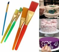 5 Pcs Painting Brushes Cake Decorating ART Fondant Dusting Sugar Craft Tool