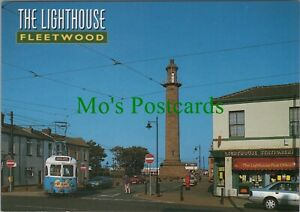 Lancashire Postcard - The Lighthouse, Fleetwood   RR10992