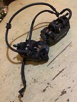 2013-2016 13 14 15 16 HONDA CBR600RR RIGHT LEFT FRONT BRAKE CALIPER Cables OEM