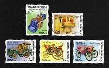 Somali Republic 1997 Veteran Motor Cars short set of 5 values used