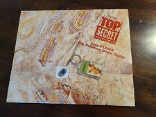Highlights Top Secret Adventures 4 Cases Map, Keychain.Activities,Puzzl es.