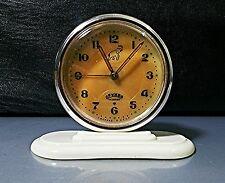 Vintage Alarm Clock DRUJBA USSR Mechanical ДРУЖБА RARE 11 Jewels