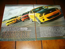 2005 FORD MUSTANG GT - GT-R - SHELBY GT500E - SALEEN ***ORIGINAL ARTICLE***