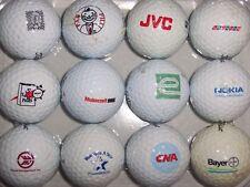 (12) Logo Golf Balls (Jvc, Nokia, Waste Management, Yellow Pages) B#147