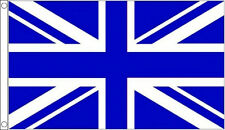 HUGE 8ft x 5ft Royal Blue & White Union Jack Flag Massive Giant Sports Football