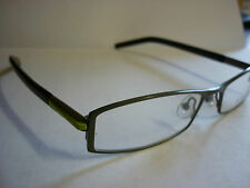Jai Kudo 529 Frames Glasses Eyeglass Spectacle in Grey / Green  Ref G162