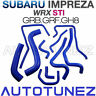 Silicone Car Radiator Hose Kit Set For Subaru Impreza WRX STI GRB GRF GH8 AT
