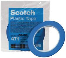 """3M 6404 - ScotchA(R) Plastic Tape 471 Blue 1/8"""" x 36 yd"""