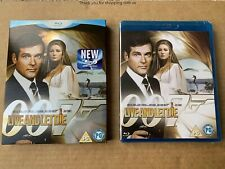 Live And Let Die Blu ray NEW & SEALED + Rare Slipcase James Bond 007 Roger Moore