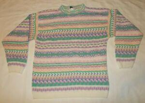 Vtg 80/'s Women/'s Rabbit Bunny crewneck sweatshirt Collar sweatshirt animal print hippie boho sweatshirt Jerzees Made in USA