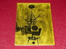 ART siglo XX Art CONTEMPORÁNEO YUGOSLAVIA CATÁLOGO EXPOSITION MNAM París EO 1961