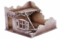 Old West Cowboy Building ADOBE Derelict House 1 25mm, 28mm Terrain A015