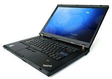 "COMPUTER NOTEBOOK PORTATILE LENOVO THINKPAD W500 15.4"" DUAL CORE RAM 4GB HDD 320"