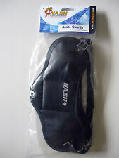 2 Nash Hockey Skates Leather Ankle Guards! New, Sr Skate Guard Foot Protection