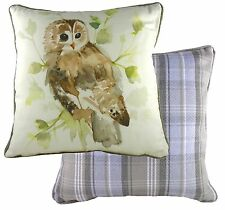 Country Owl Cushion Cover by Evans Lichfield  NEW