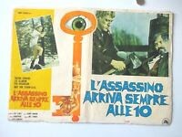VINTAGE CANVAS ITALIAN MOVIE POSTER THE KILLER COMES BEFORE 10 1970 DECORATOR PC
