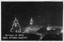 4704) IL DUCE A BOLOGNA 21 OTTOBRE 1926.