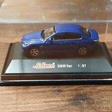 Schuco 1:87 BMW 5er blau in OVP