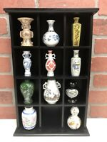Lot 11 Franklin Mint Treasures of Imperial Dynasties Porcelain Mini Vases JAPAN