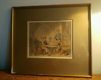 SUPER 19th CENTURY WATERCOLOUR BY DUTCH ARTIST HERMAN TEN KATE (1822-1891)