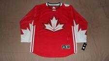 Team Canada Red World Cup of Hockey 2016 Adidas Men's Medium Hockey Jersey NEW