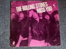 THE ROLLING STONES - Miss you / Far aways eyes - 12' / MAXI 45T color disc