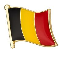 Belgium Flag Pin Lapel Badge Belgian High Quality Gloss Enamel
