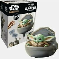 Star Wars Mandalorian The Child Baby Yoda Talking Clapper w Night Light NEW