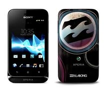 Sony xperia tipo st21i Black Billabong Limited Edition Noir Sans Simlock