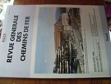 µ?. Revue Generale des Chemins de Fer RCGF 07-1984 Mecanisation entretien voie