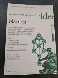 Zeitschrift für Ideengeschichte Heft VII/1 Frühjahr 2013 / Zustand gut