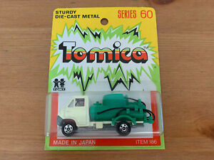 Tomica Toyota Dyna on Yellow Card Made For G.J Coles Melbourne Australia