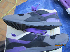Comme neuves ! Baskets DIESEL Speed, point 44, coul violet, gris, noir