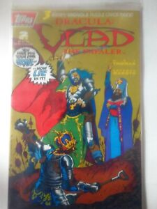 Topps Issue #2 Dracula: Vlad the Impaler Factory Sealed with Trading Cards NM