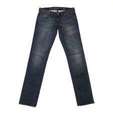 LEVIS Womens Blue Denim Jeans Slight Curve Skinny Low Rise Slim Size 26 Waist 28