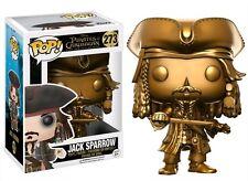 Funko Pop VINILE Pirati dei Caraibi Capitan Jack Sparrow ORO