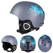 Adult Ski Helmet Skateboard Skiing Winter Snowboard Matte Protective Helmet Cap