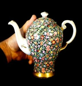 Beautiful Tuscan Mille Fleurs Coffee Pot