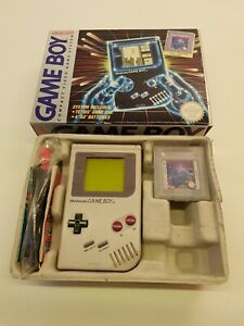 Boxed Original Nintendo Gameboy - Tetris Edition - DMG-01 1989 - See Pics