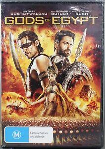 "GODS OF EGYPT (DVD, 2016) BRAND NEW / SEALED ""REGION 4"""
