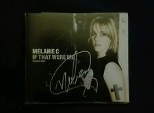 MELANIE MEL C IF THAT WERE ME HAND SIGNED CD SINGLE AUTOGRAPH SPICE GIRLS