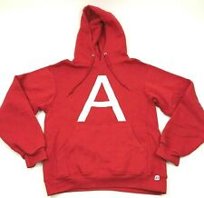 Russell Alvin And The Chipmunks Sweater Hoodie Size Small S Red Pullover Hooded