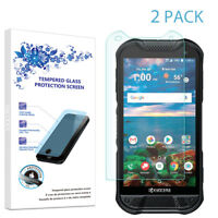 2-Pack For Kyocera (DuraForce Pro 2) Tempered Glass Screen Protector